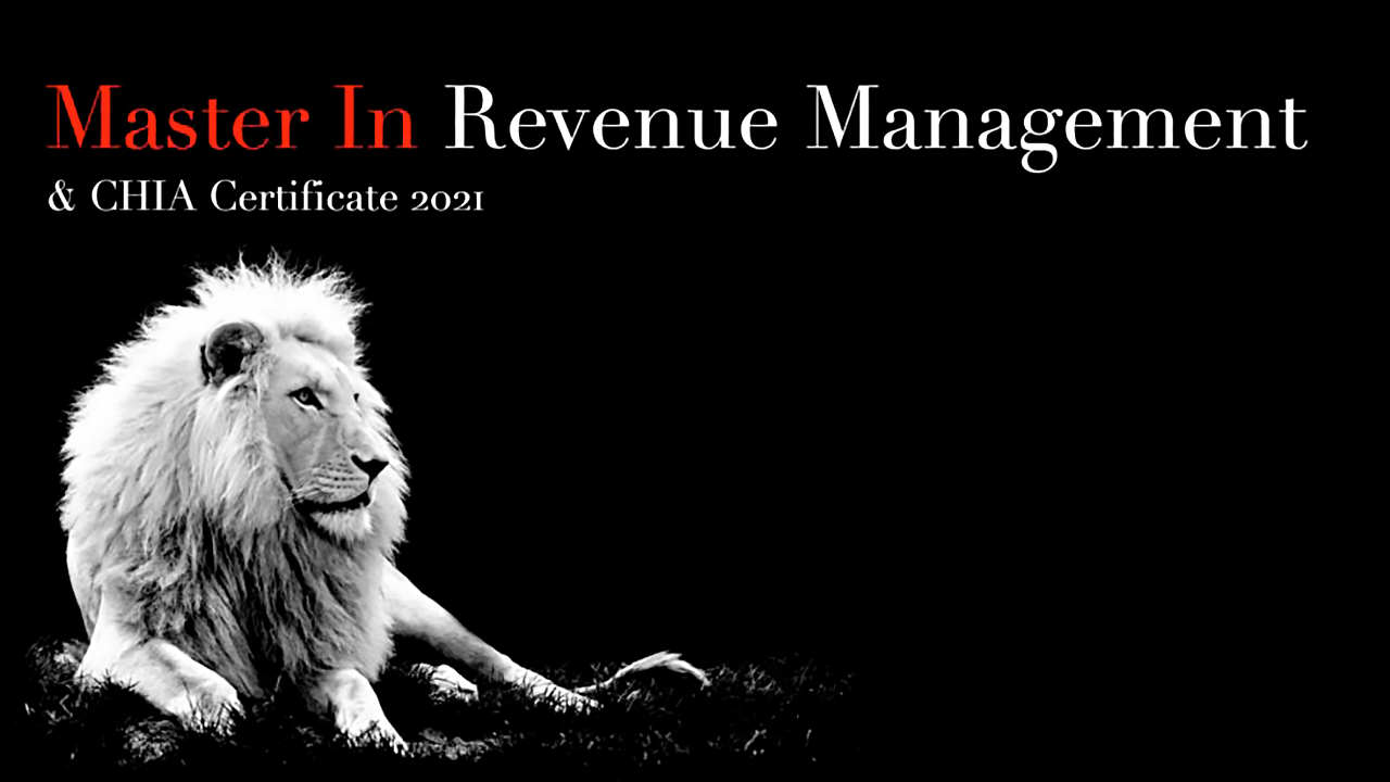 master in revenue management chia certificate 2021 luciano scauri
